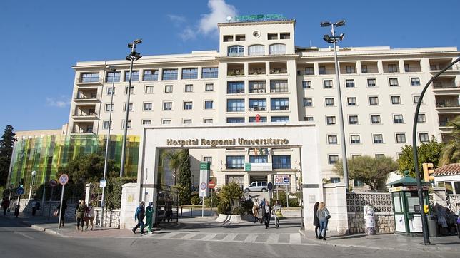 Fachada del Hospital General de Málaga